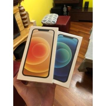 iPhone 12 64gb bialy niebieski