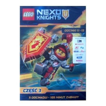 LEGO Nexo Knights, cz.3, odc.11-15 dvd z licencją