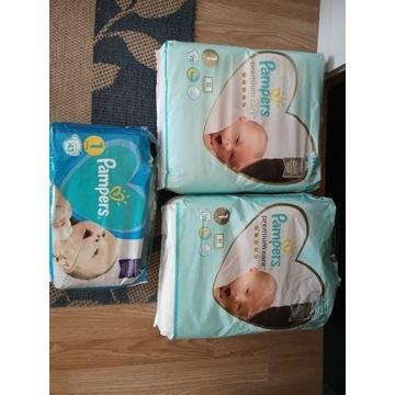 Pieluszki Pampers New baby 1 i Premium care 1