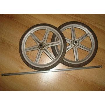 Kajak Neptun koła fi 27 cm z wózka z ośką