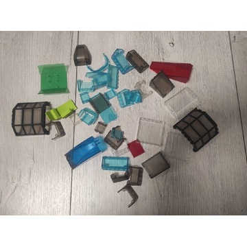 LEGO mix szyby, okna, szkło