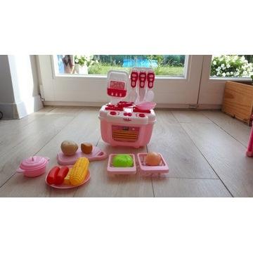 Piękne mebelki dla lalek- kuchnia z akcesoriami