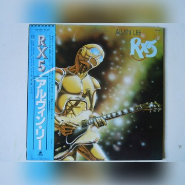 ALVIN LEE / TEN YEARS AFTER - RX 5 JAPAN