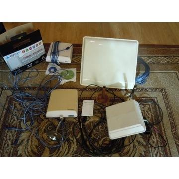 4 anteny panelowe wifi