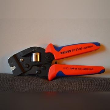 Knipex 97 53 09 Samonastawne szczypce do tulejek