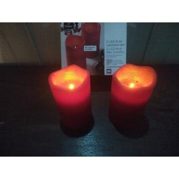 Tchibo świece woskowe 2 szt