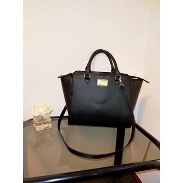 Torba shopper elegancka czarna H&M