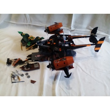 LEGO NINJAGO MISFORTUNE KEEP 70605 BEZ FIG NIEKOMP