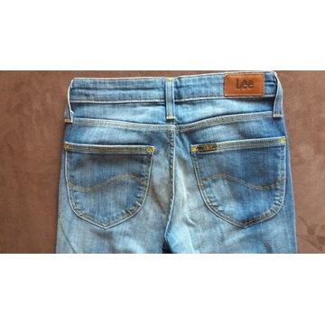 Spodnie damskie LEE SCARLETT W24 L33 nowe bez metk