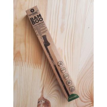 Drewniana szczoteczka do zębów, eco.