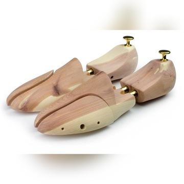 Prawidła Drewniane Cedrowe do butów rozm.44
