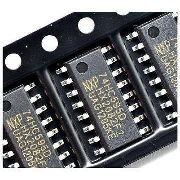 Rejestr Przesuwny Arduino 74HC595D SMD 5 sztuk