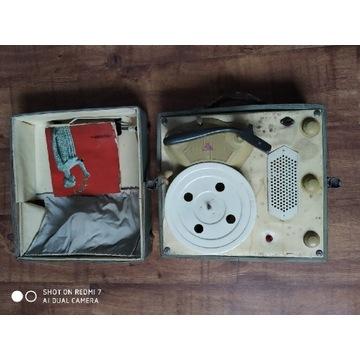 Gramofon bambino adapter z 1967 roku