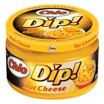 Chio Dip Cheese lub Mile Salsą produkt Niemiecki