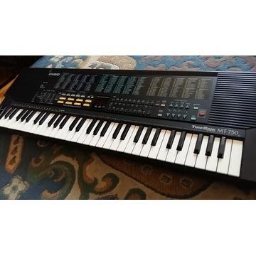 Casio mt 750 ciepłe analogowe brzmienie