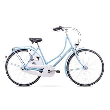Rower miejski retro Buleva 28 3-bieg + biały kosz