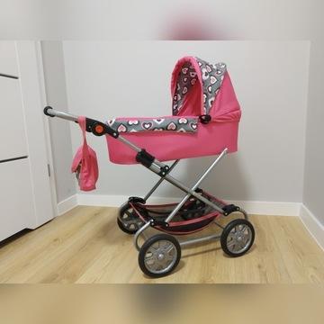 Wózek dla lalek. Idealny, regulowana wysokość