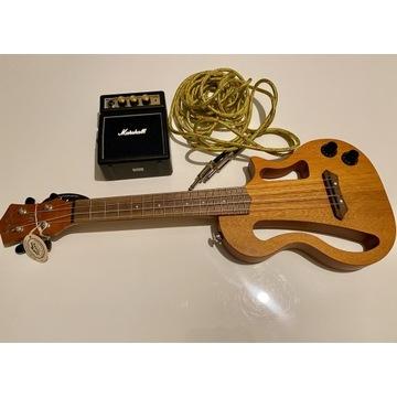 Sprzedam ukulele elektryczne + piec Marshall