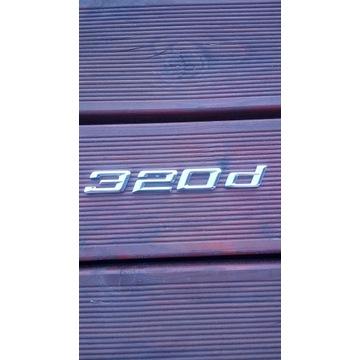 Emblemat znaczek klapa tył Bmw 320d G20 2019rr