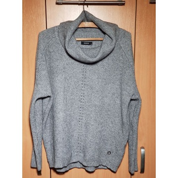 Sweter z golfem RESERVED damski M