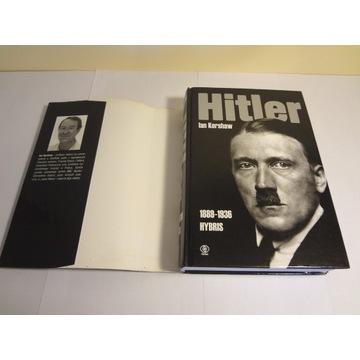 Hitler 1889 1936 Hybris Ian Kershaw ładny stan!