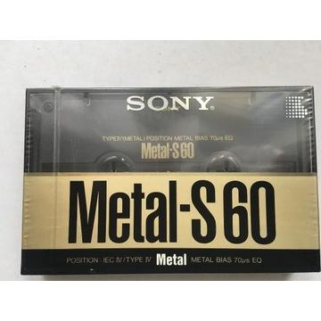 Kaseta magnetofonowa SONY METAL-S 60