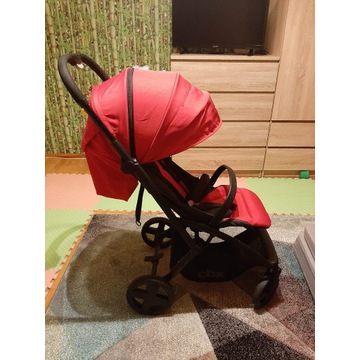 Wózek spacerowy cybex CBX etu plus crunchy red