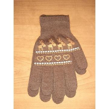 Nowe rękawiczki dziecięce 18cm dla dziewczynki 9la