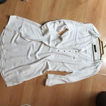 Biała koszulowa HALLHUBER   R,36 VISCOZA