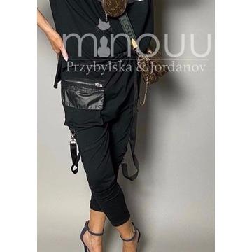 Minouu spodnie czarne Beti