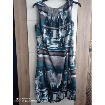 Sukienka w zieleni bombka r. M Solar