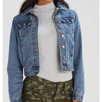 NEW LOOK Bluza kurtka jeansowa 38