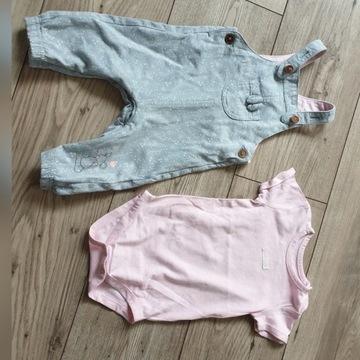 Zestaw komplet spodnie i body 68cm Cool Club