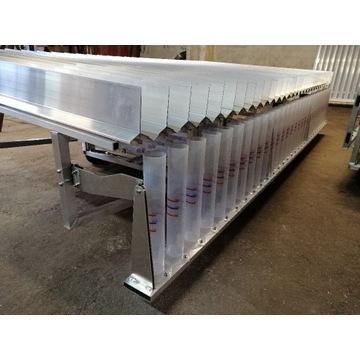 Stół Rowkowy do badań opryskiwaczy polowych