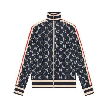 Oryginalna Bluza Gucci GG Jacquard Jacket IT 48 M