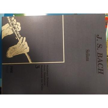 J. S. Bach - Siciliana Miniatury fletowe