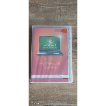 ORYGINALNY Windows 7 Home Premium 32BIT PL