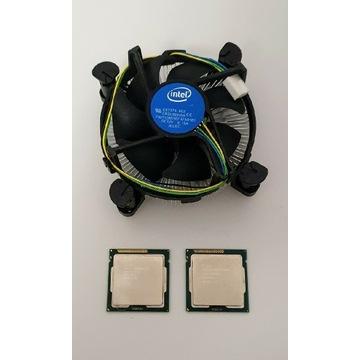 i5-3450, 4x3,5GHz,  + chłodzenie + Pentium G645