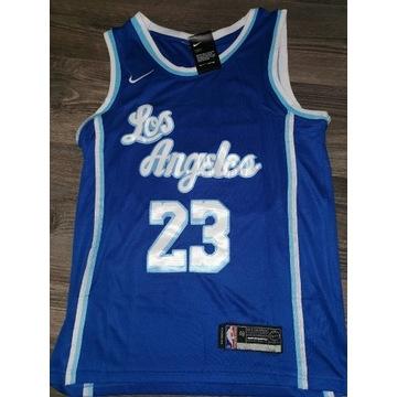 Koszulka Lebron James Lakers, wysyłka 0 zł!