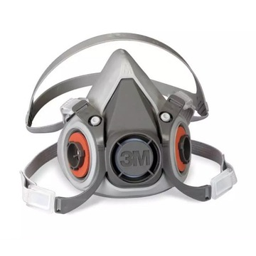 3M Maska półmaska 6200