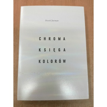 Chroma: Księga Kolorów Derek Jarman