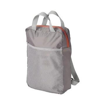 Plecak, jasnoszary24x8x34 cm/9 l