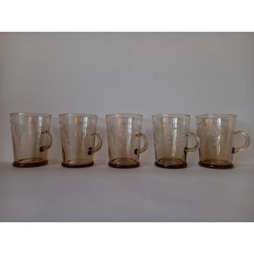Szklanki do kawy/ herbaty z końca lat 70 tych