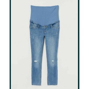Jeansy ciążowe rozmiar M marki H&M