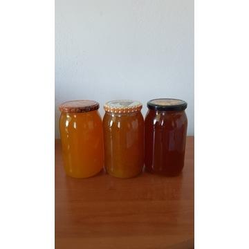 Miód Pszczeli  Wielokwiatowy   Sloik 0.9l 1.3 kg
