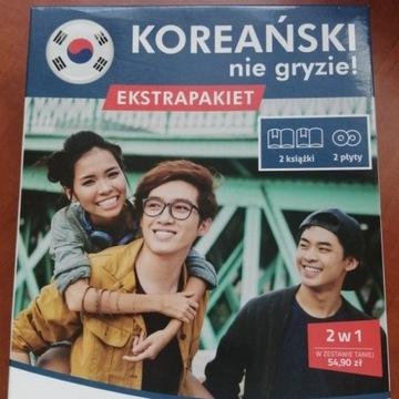 Koreański nie gryzie poziom A1-A2 + fiszki