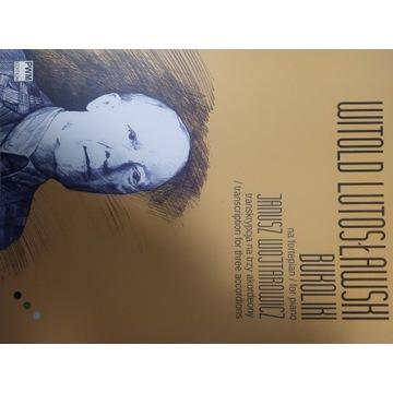 W. Lutosławski  Bukoliki  transkrypcja 3 akordeony