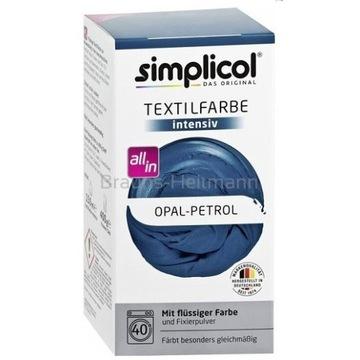 SIMPLICOL Farba Do Tkanin Opal-Petrol