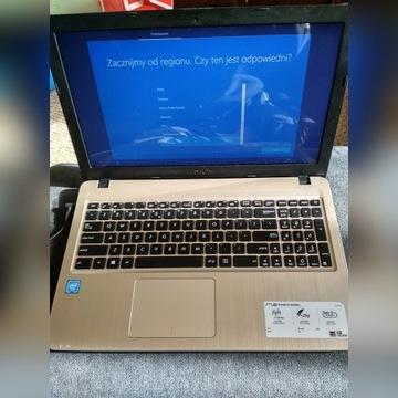 Laptop ASUS R540s, intel, windows 10, HDD 500GB