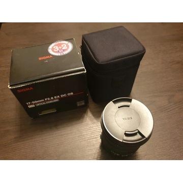 Obiektyw Sigma 17-50mm F2.8 EX DC OS HSM Nikon